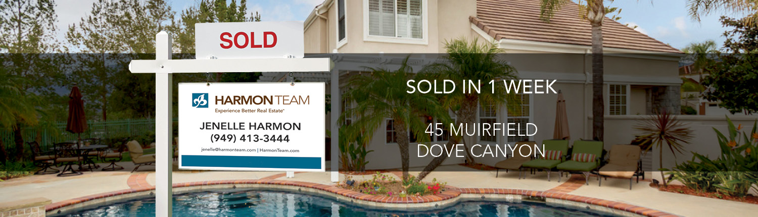 Sell your Dove Canyon Home